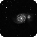 M51 - Whirlpool Galaxy,                                jorgeing_umh