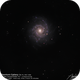 Phantom Galaxy (M 74),                                Godfried