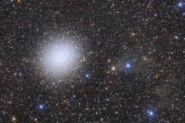 NGC 5139 - The Omega Centauri globular cluster,                                Rafael Schmall