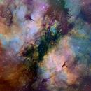 The Butterfly Nebula - Hubble Palette,                                Eric Coles (coles44)