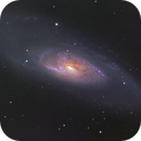 M106 Galaxy, a color image, CPH, Denmark,                                Niels V. Christensen