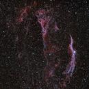 Veil Nebula from London,                                agard