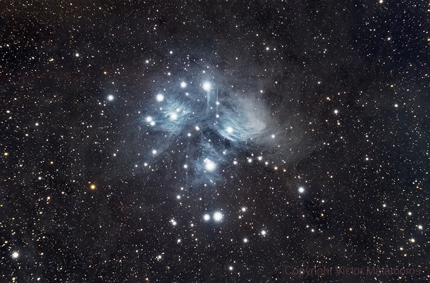 M45 - Pleyades,                                Victor Matamoros Alcaino