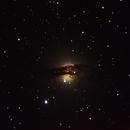 NGC 5128 The Hamburger,                                Wes Smith