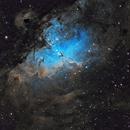 The Eagle Nebula,                                Prabhu S Kutti