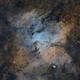 NGC 6188 (The Dragons of Ara) in SHO,                                Ayrton Lopes