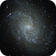Triangulum galaxy (8 sec frames, livestacking),                                Doc_HighCo