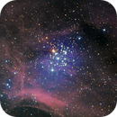 NGC3293 in Ha RGB,                                Kevin Parker