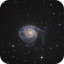 Messier 101 LRGB Pinwheel Galaxy,                                Themis Karteris