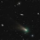 Comet C/2020 R4 ATLAS in a Crowd of Galaxies,                                Dan Bartlett