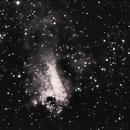 M 17 Omega Nebula,                                Michael Timm