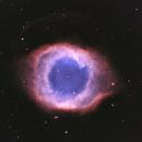 NGC 7293 - Helix Nebula in LHSO,                                Uwe Deutermann