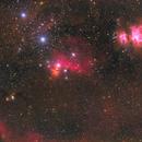 Orion complex,                                U-ranus