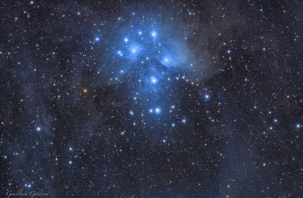 M45, The Pleiades,                                Gianluca Galloni