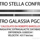 Spettro e redshift  di PGC63016,                                Roberto Barcellona