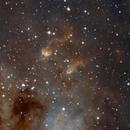 IC410 H-SHO,                                Emilio Zandarin