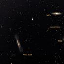 Leo Triplet and asteroid (381) Myrrha,                                Jesús Piñeiro V.