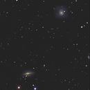 M77 e NGC 1055,                                paolopunx