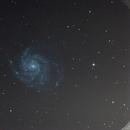 M101 Pinwheel Galaxy,                                amsideribus