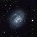 NGC 4395, A Seyfert Galaxy,                                M.J. Post