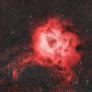 NGC 2244 Rosette Nebula (Rosetten Nebel) - Optolong L-Extreme,                                Chris Klein