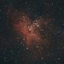 M16 - Eagle nebula: DSLR with L-Enhance,                                Enol Matilla