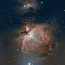 M42 Orion Nebula mosaic,                                Pharmastro