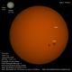 Sol con Skywatcher AC 120/600mm 20150825,                                Juan A. Navarro