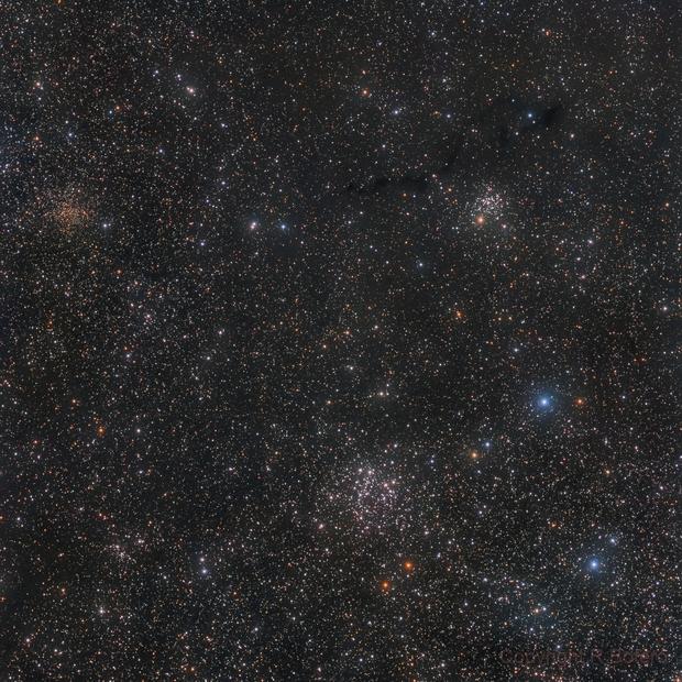 NGC 663, NGC 654, IC 166, vdB6, Dobashi 3809,                                Roberto Botero