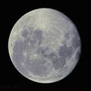 Waning Gibbous Moon (99%) on June 11, 2017,                                JDJ