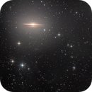 Sombrero Galaxy (Deep with color),                                KuriousGeorge