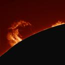 Sonnenprotuberanz,                                Gabriele Gegenbauer