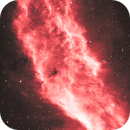 California Nebula (NGC 1499) in H-Alpha With Some Edits,                                William Gottemoller