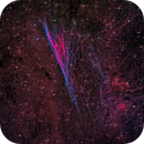 Pencil Nebula 2 Ways (Both Novel) Using NB Line Extractions,                                Alex Woronow