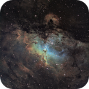 M16 - The Eagle Nebula (Ha-SHO),                                Olivier Ravayrol