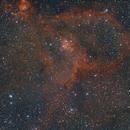 Heart Nebula IC 1805,                                francopanetta