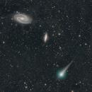 Doesn't Make Sense CometC/2017 T2 PANSTARRS in Same Field with M81 & M82,                                Dan Bartlett