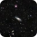 M106 LRGB with Annotated Plate Solve,                                jerryyyyy