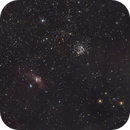Nova in Cassiopeia - V1405CAS, Bubble Nebula and M52,                                stille