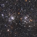 NGC 869 & NGC 884 - Double Cluster,                                Jarrett Trezzo