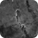 IC 1396 - Elephant's Trunk Nebula in H-Alpha,                                Frank Breslawski