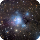 NGC 7129, A Reflection Nebula with Dust,                                Eric Coles (coles44)