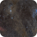 M45 to NGC1499 - Ice Vs Fire,                                Jocelyn Podmilsak