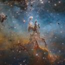 M16, The Pillars of Creation (HST) (Crop),                                Fatalik