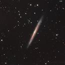 Needles Galaxy Ngc 5907,                                Dean Salman