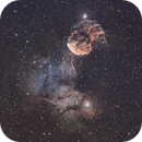 IC443 Jellyfish nebula and IC444,                                Turki Alamri