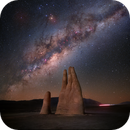 The Hand in Atacama Desert,                                Kiko Fairbairn