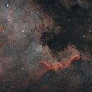 NGC 7000 The North American Nebula,                                Elmiko