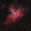 M16 Eagle Nebula,                                Hata Sung