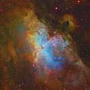 Eagle Nebula,                                Colin